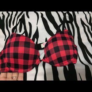 Victoria's Secret PINK plaid bra